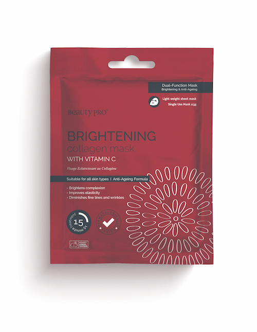 BeautyPro Collagen Mask BRIGHTENING