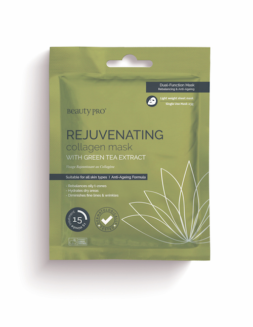 BeautyPro Collagen Mask REJUVENATING