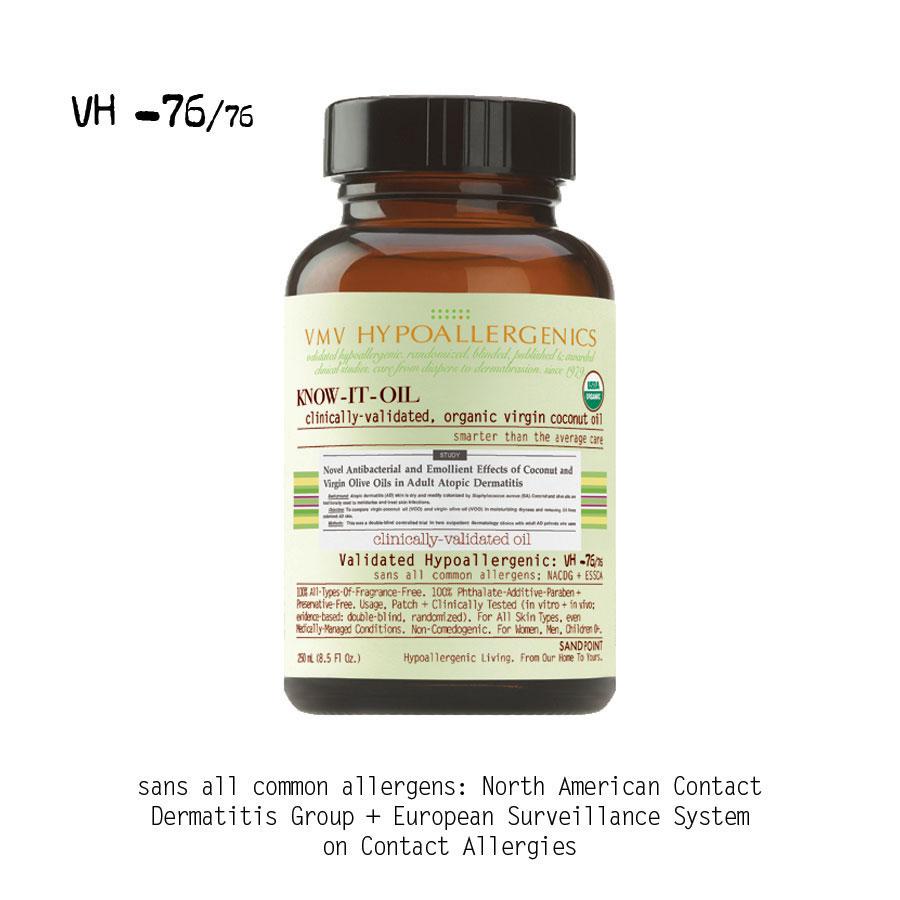 VMV Hypoallergenics Know it oil