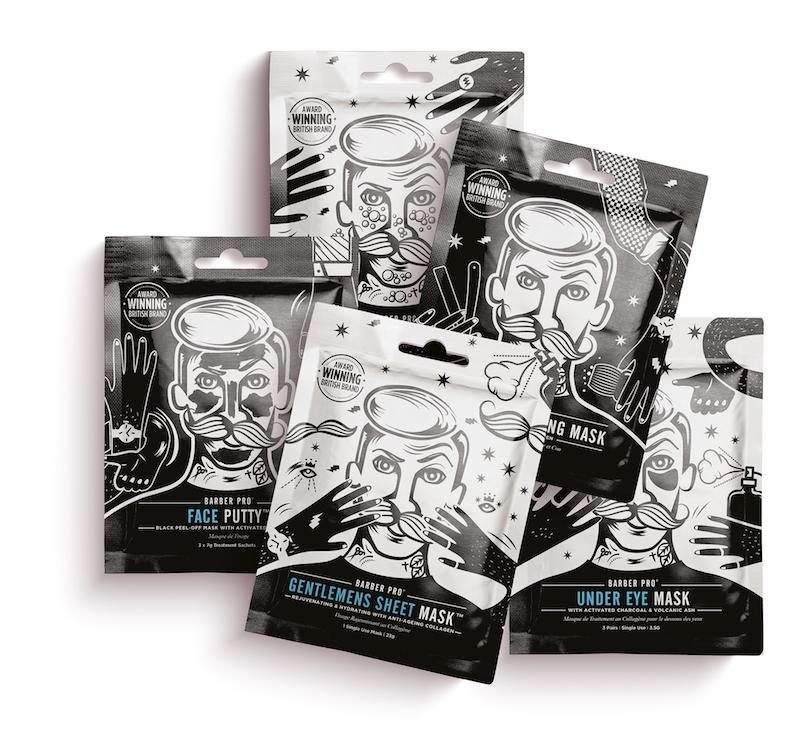 Barber Pro Sheet Mask Range