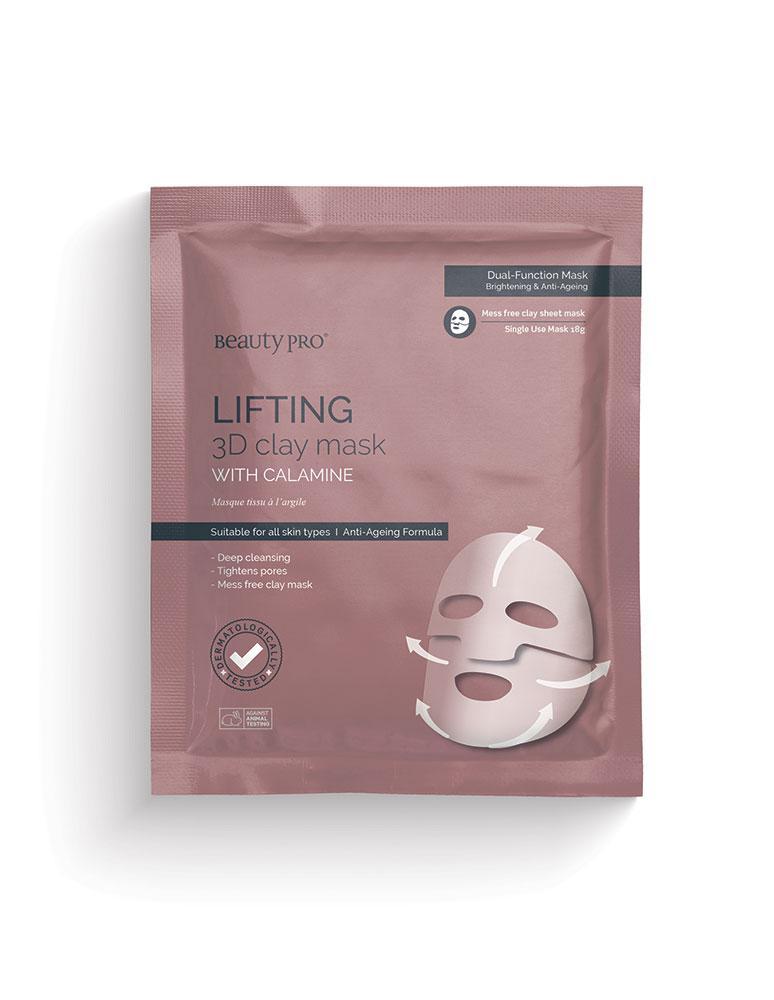 Lifting 3D Clay Mask